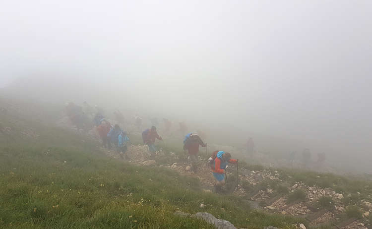 Untersberg Ueberschreitung Im Nebel Untersberg Extrem Wander Festival