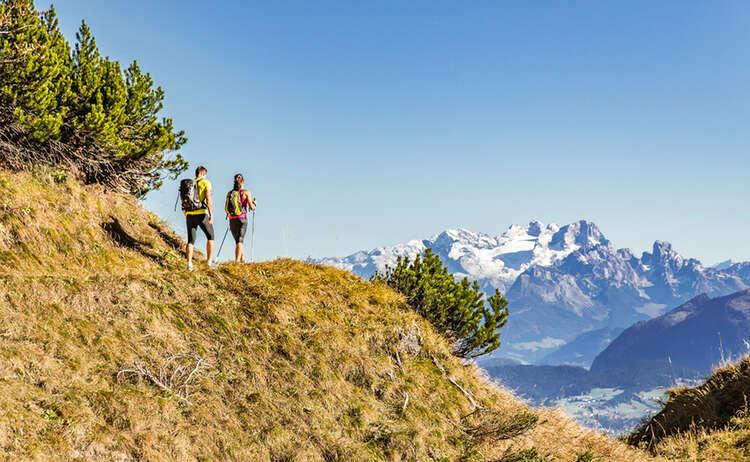 Aussichtsreich unterwegs am Untersberg