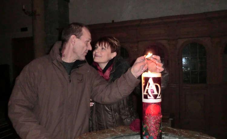Valentinstag Kirche Laufen