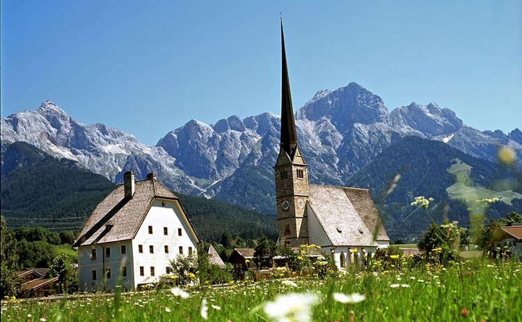 Wallfahrtskirche Maria Alm Hochkoenig Tourismus Gmbh