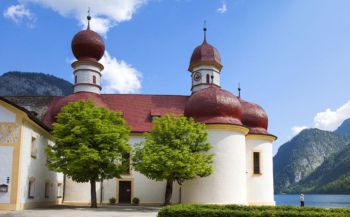 Wallfahrtskirche St. Bartholomä am Königssee