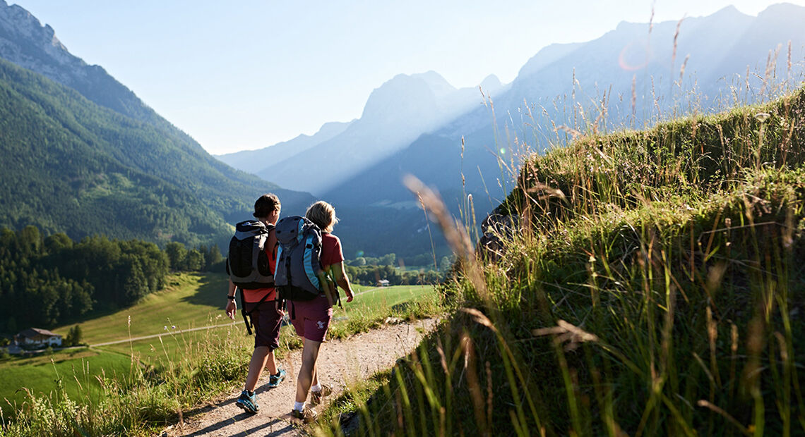 Wander Und Kletterausrüstung : Wandern zwischen watzmann und königssee
