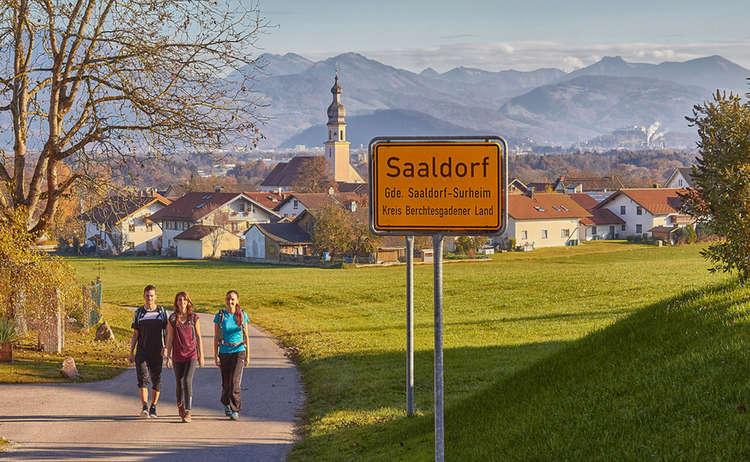 Wandern Saaldorf Surheim Rupertiwinkel