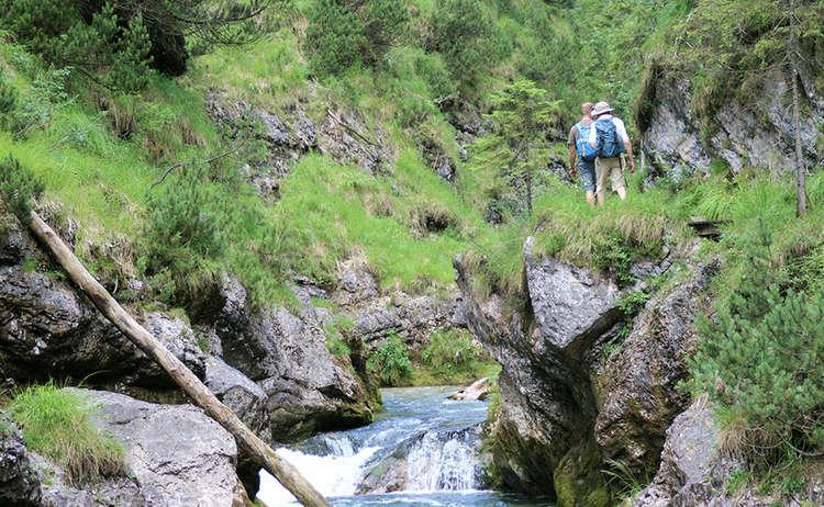 Wanderung Weissbachschlucht 1