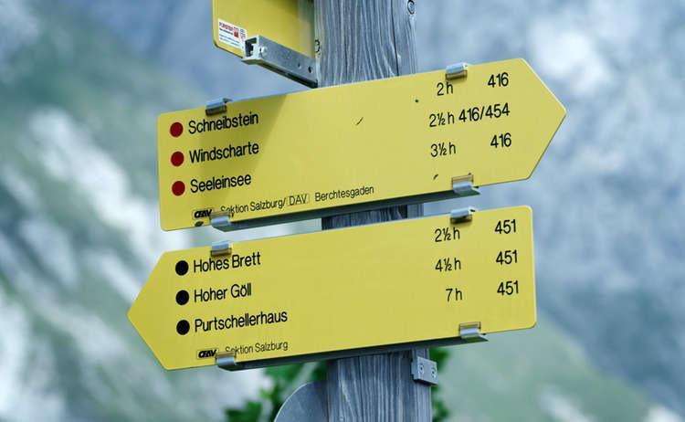 Wanderwege Kategorien
