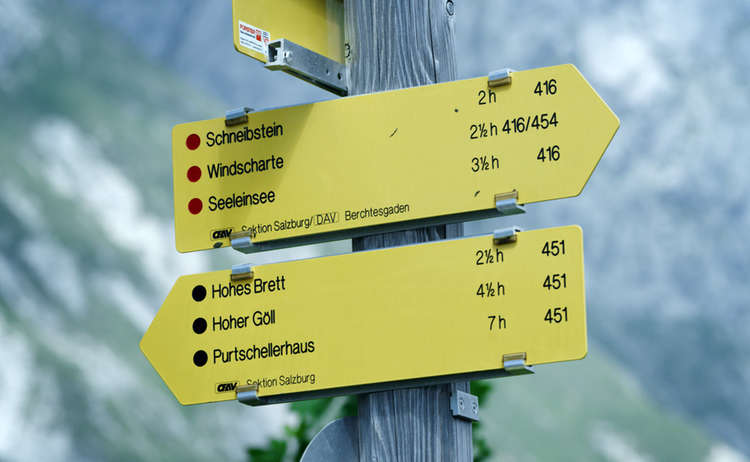 Wanderwege Klassifizierung Wanderakademie