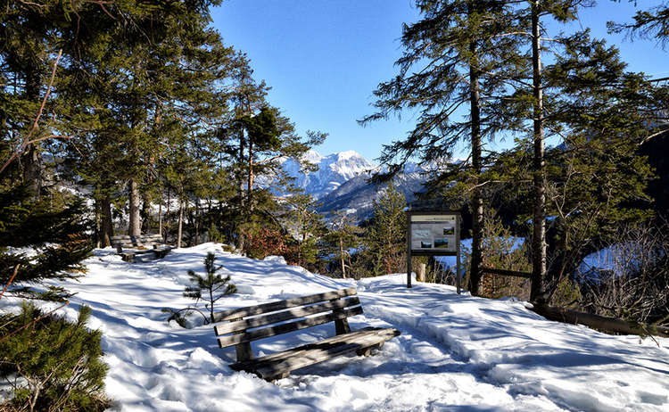 Wartstein Winterwandern Ramsau