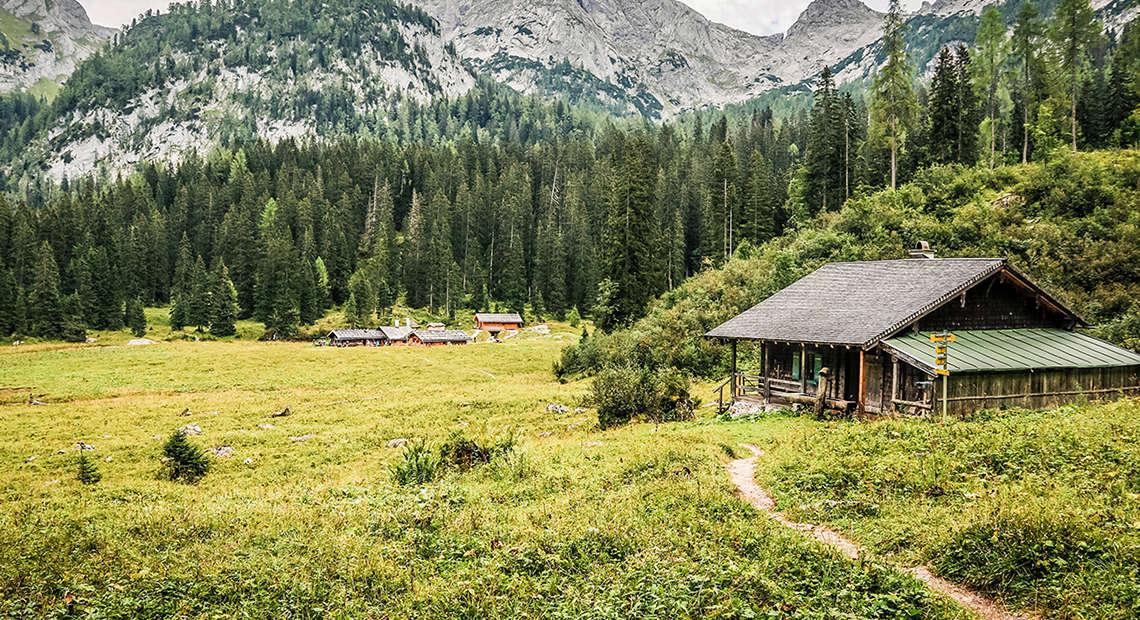 Wasseralm Huettentour Berchtesgaden Berge