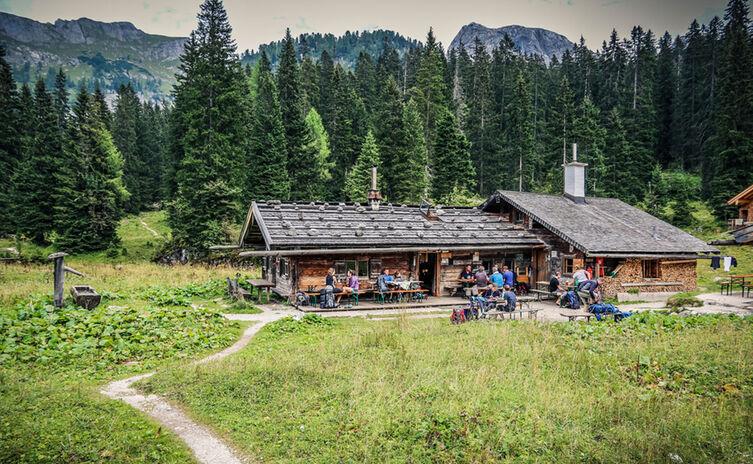 Wasseralm Huettentour Berchtesgaden