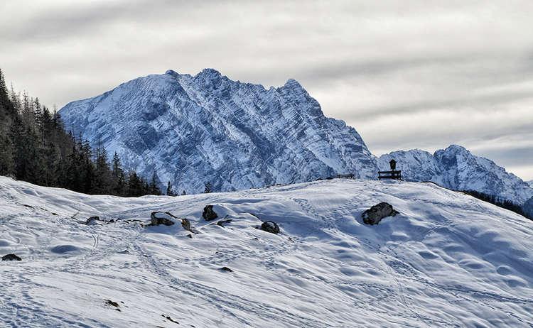 Watzmann Mordaualm Winter
