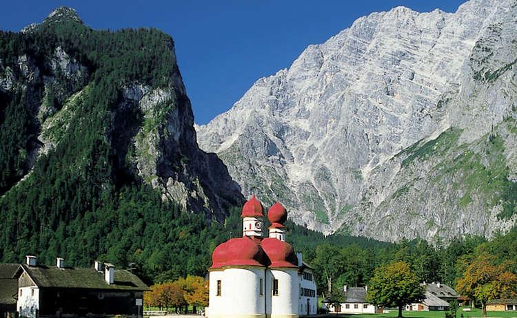 Watzmann Ostwand Und Sankt Bartholomae