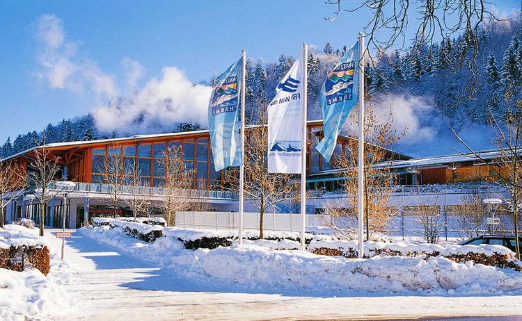 Watzmann Therme Berchtesgaden Winter