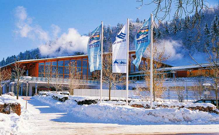Watzmann Therme Berchtesgaden Winter