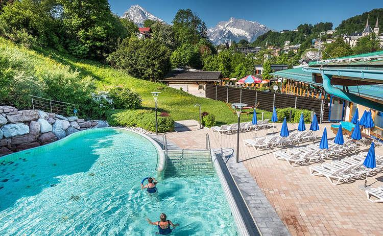Watzmann Therme Thermal Spa Berchtesgaden Bavaria