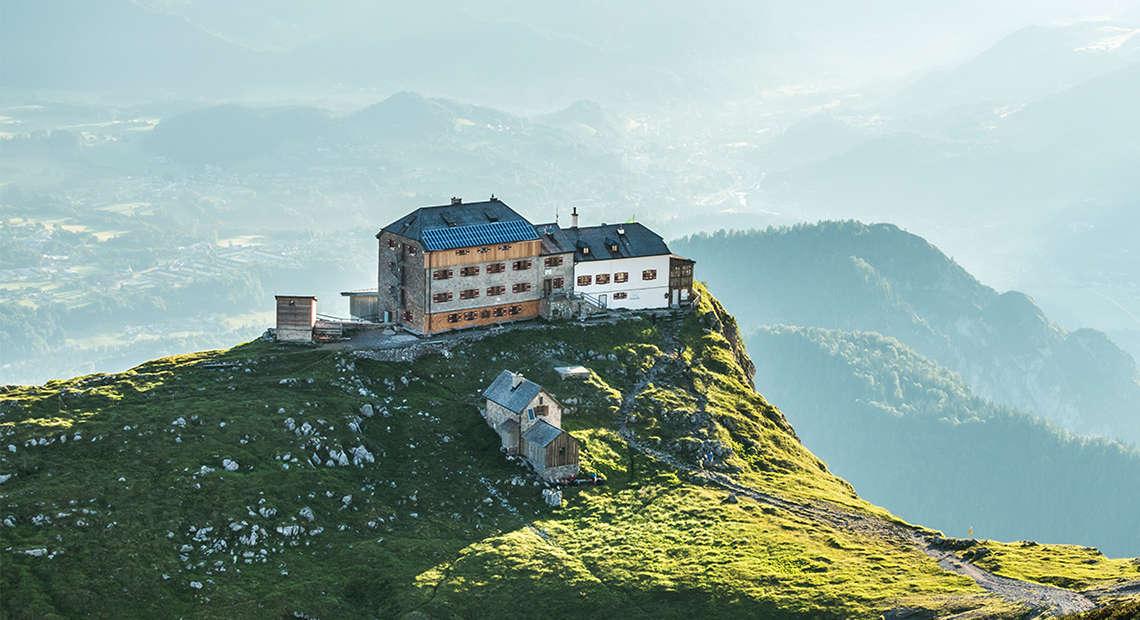 Watzmannhaus Berghuetten Berchtesgaden 1