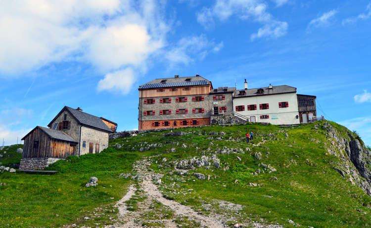 Watzmannhaus Nationalpark Berchtesgaden Bayern