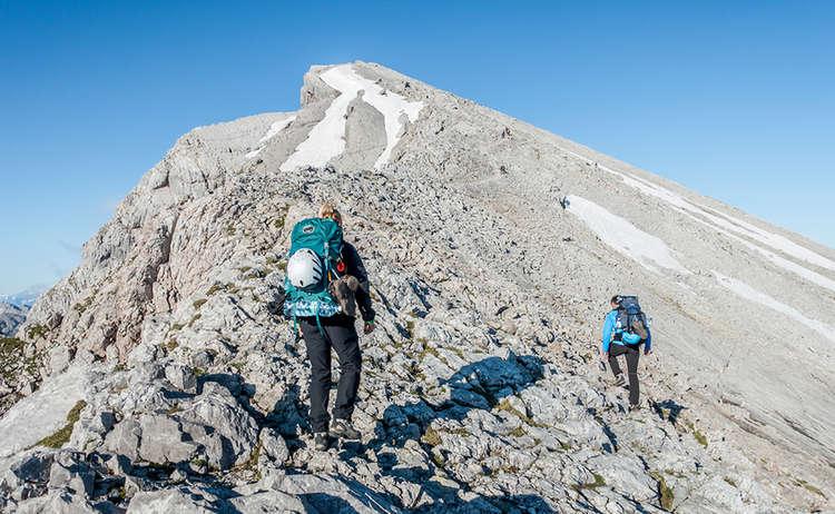 Aufstieg zum Hocheck | Watzmann