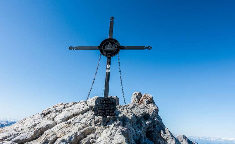 Watzmannueberschreitung Mittelspitze Giuefelkreuz