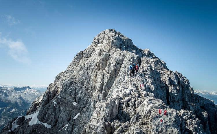 Watzmannüberschreitung kurz vor der Südspitze