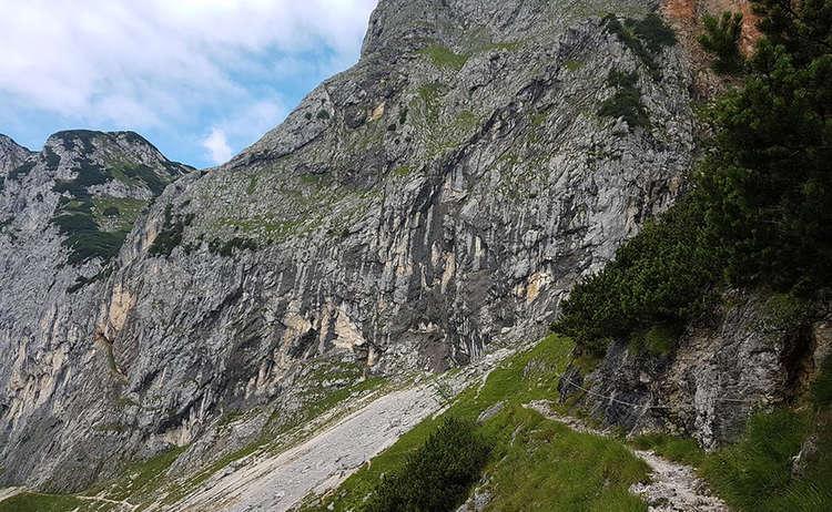 Weg Zur Schellenberg Eishoehle Thomas Eder Steig