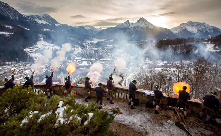 Weihnachtsschuetzen Berchtesgaden