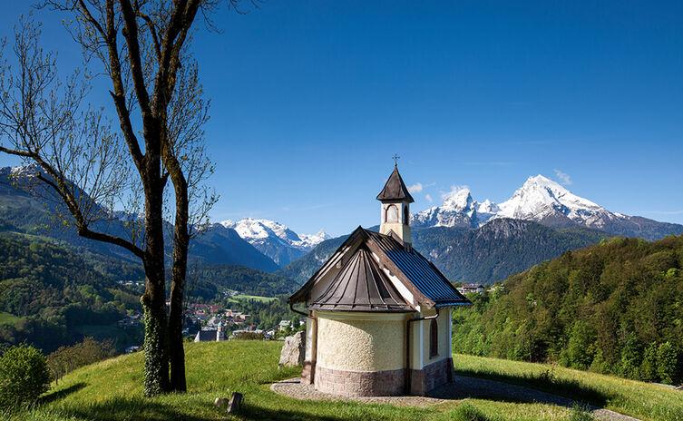 Die Kapelle der Seligpreisungen am Lockstein bei Berchtesgaden