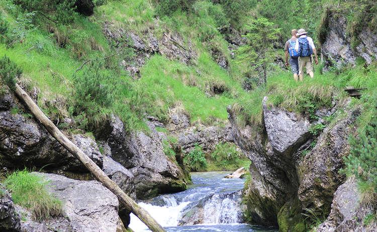 Spectacular: Tour through the Weissbach Gorge