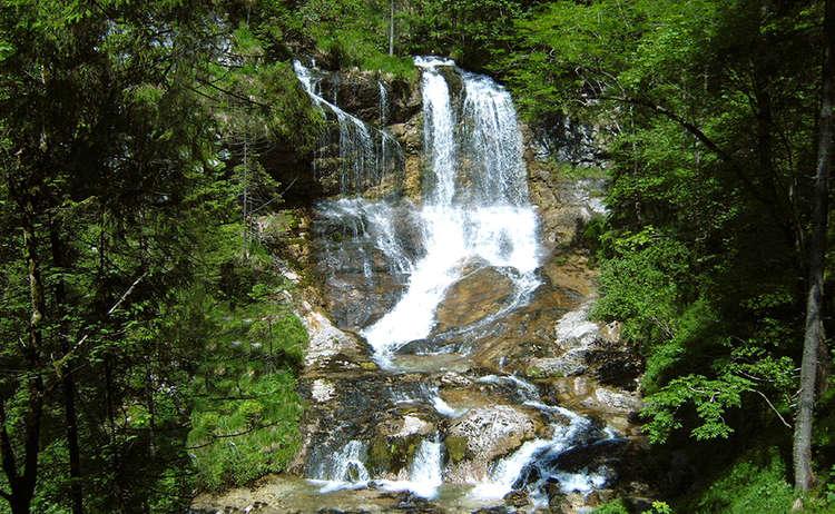 The Weissbachfälle,  magnificent waterfalls