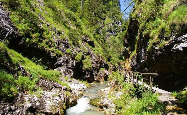 Weissbachschlucht, Schneizlreuth