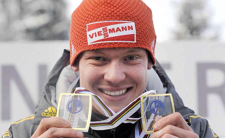 Weltmeister Und Olympiasieger Felix Loch