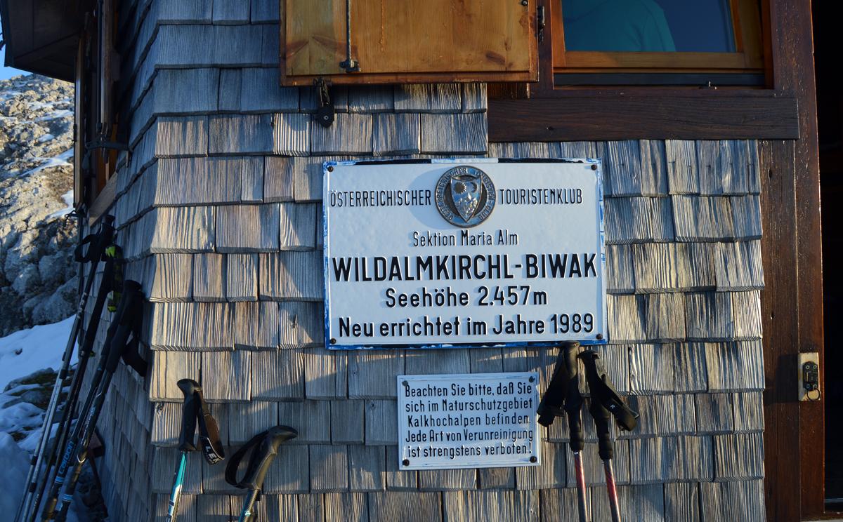 Wildalmkirchl Biwak 7