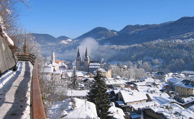 Winter Auf Der Soleleitung Berchtesgaden