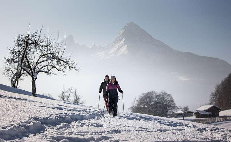 Winter Hiking Berchtesgaden Bavaria