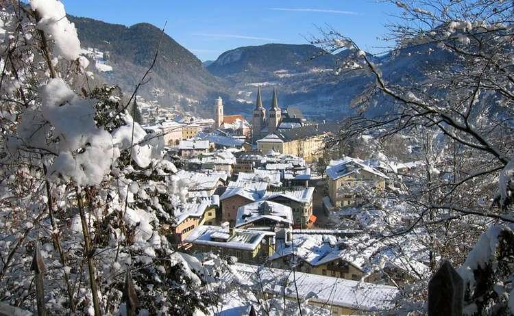 Winter im Markt Berchtesgaden