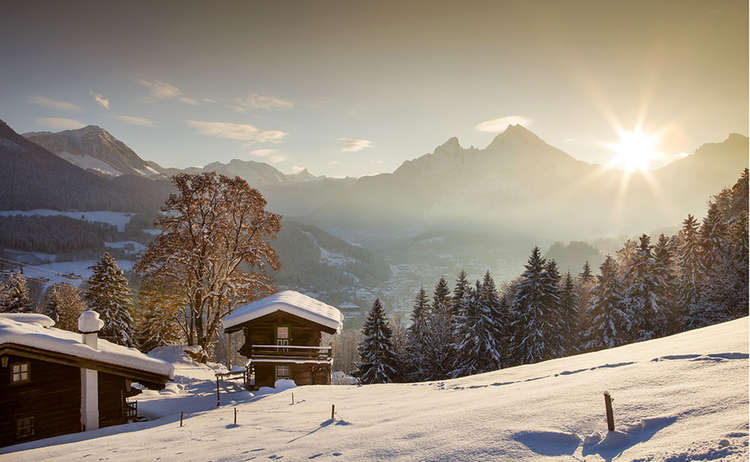 Winter Watzmann Berchtesgadener Land