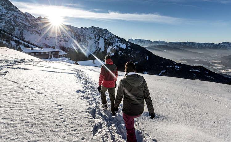 Winterwandern Berchtesgaden 1