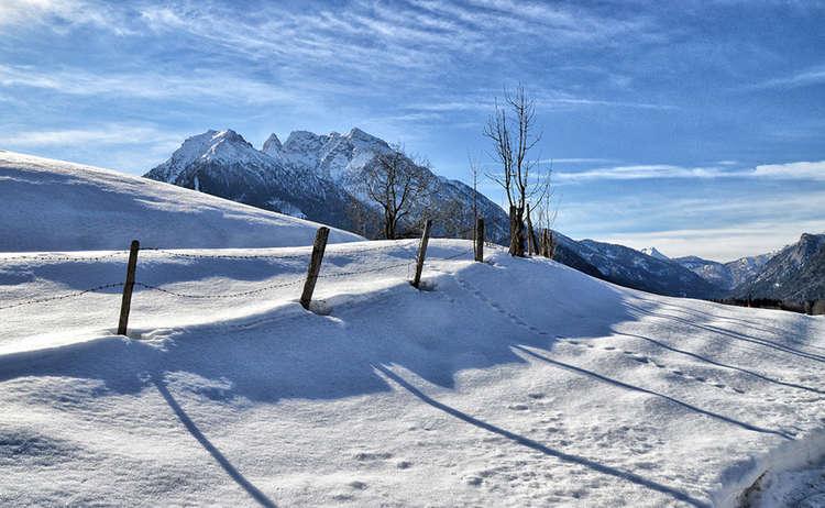 Winterwandern Bergsteigerdorf Ramsau