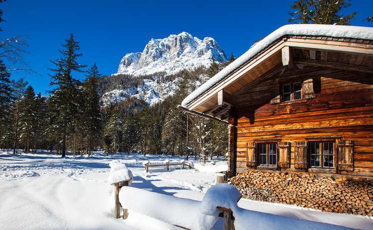 Winterwandern Klausbachtal Bergsteigerdorf Ramsau