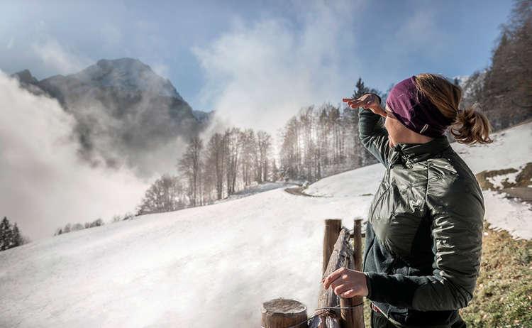Winterwandern Ramsau Soleleitung Bergsteigerdorf