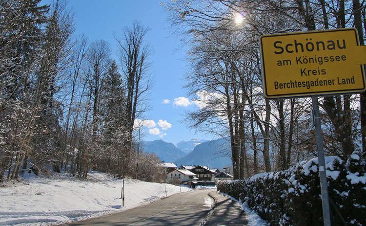 Winterwandern in Schönau am Köigssee