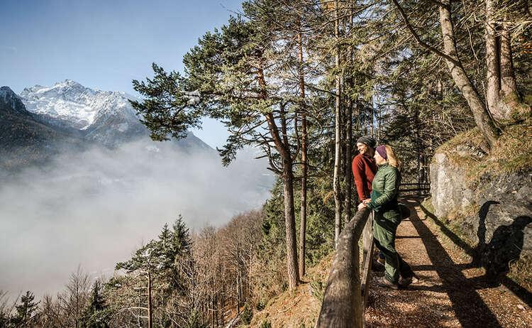 Winterwandern Soleleitung Ramsau Bergsteigerdorf 2