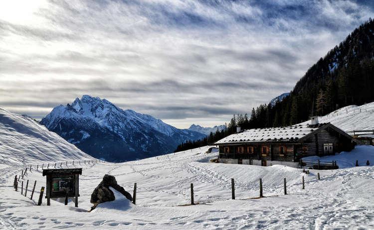 Winterwandern Zur Mordaualm Ramsau