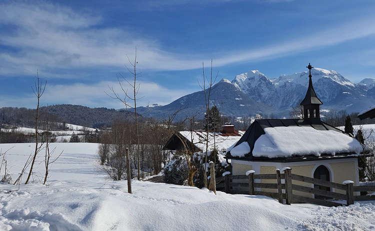 Winterwanderung Bischofswiesen Boecklweiher