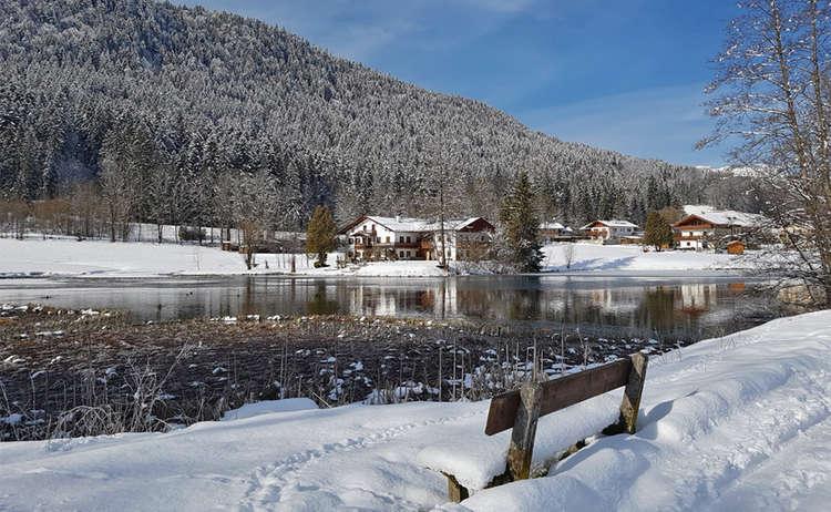 Winterandern am Böcklweiher