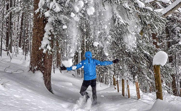 Winterwanderung Kaelberstein Bischofswiesen