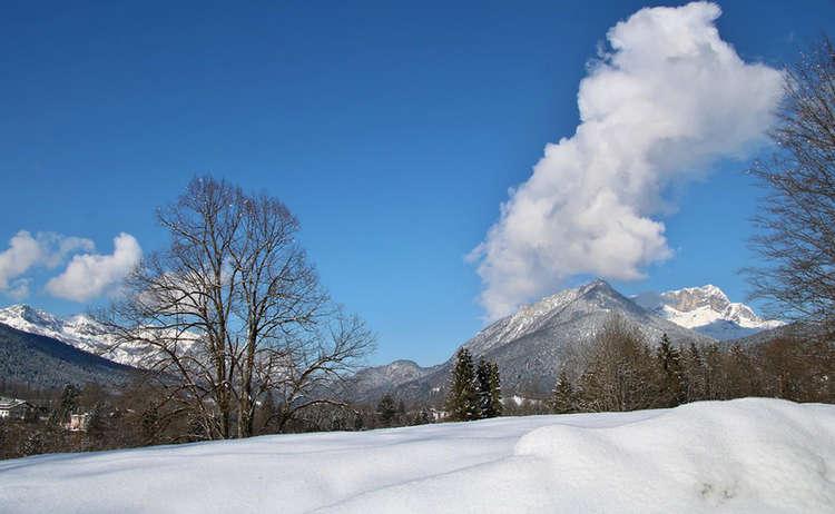 Winterwanderung Sulzbergkopf Schoenau