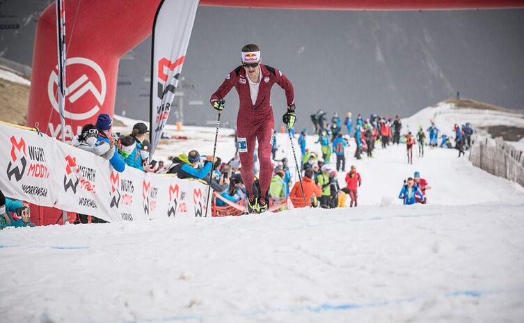 Toni Palzer ist Vizeweltmeister 2021 im Skibergsteigen